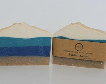 Shea Butter Soap - Oatmeal Coconut