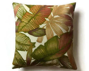 Outdoor decorative pillow cover