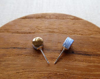 Full Moon Stud Earrings SALE