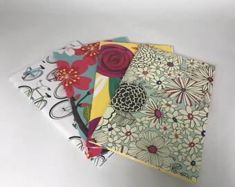 Rustic Notebook with Soft Paper Covers