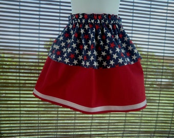 July 4th SKIRT in Two layers