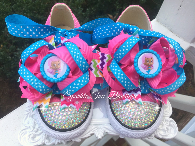Cumpleaños de lebistes burbuja zapatos arco Molly burbuja