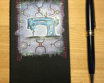 Sewing Machine Notebook