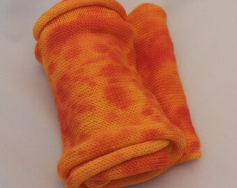Sunglow- Sock Panel- Superwash Yarn- Hand Dyed- OOAK- 0013