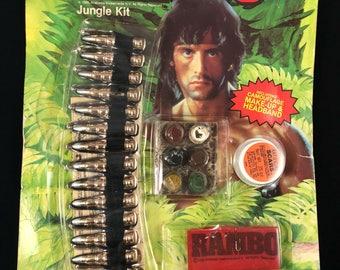 Rambo survival kit vintage stalone