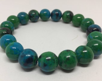 Light Green Italian Marble Bracelet