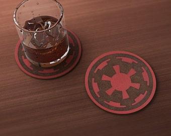 Star Wars Empire Geek Drink Coaster