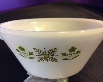 Fire King Soup Bowl With Handle