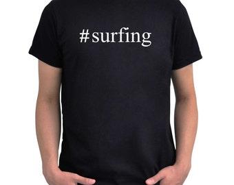 Hashtag Surfing  T-Shirt