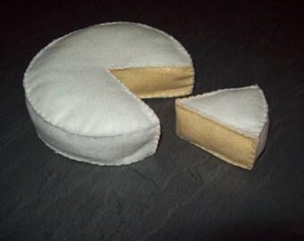 handmade felt 1 pie
