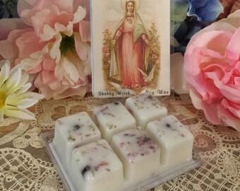 Blessed Mary Soy Tarts, Virgin Mary, Goddess Mary, Soy Melts