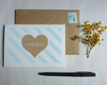 Card good luck - postcard (10 x 15 cm)