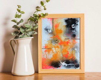 ORIGINAL Limited Edition Abstract Painting - 'The One' 1/1