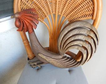 Burwood Brass Rooster - Vintage