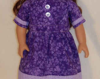1800s-Historical 18 inch  Doll  Dress  and Shoes