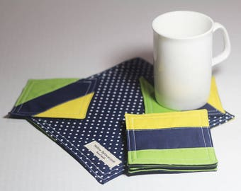 Tea Coaster & Teapot Rug
