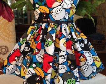 Angry Birds dress fits all 18 inch dolls including American Girl Dolls