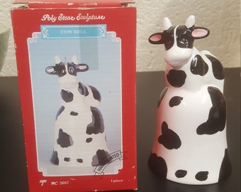 Vintage Trippies, Inc Hand Painted Cow Bell