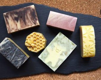 Cold process soap sample kit