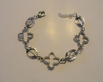 Bracetlet madewith Silver spacers