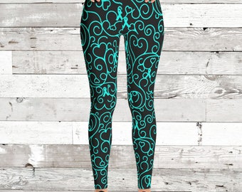 YOUR COLOR/Whimsical Ribbons Leggings