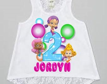 Bubble Guppies Birthday Shirt- Tank Top Available