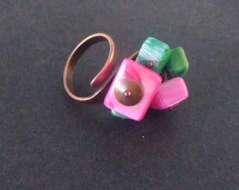 Ring: various geometric shapes