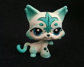 Lps custom cat white