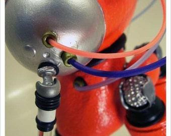 Robot Art - Mike Slobot's Slomunny v4 PRINT