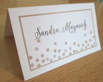 RESERVED for Colleen - Custom Designed Place Cards