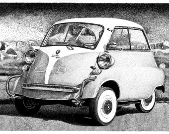 BMW Isetta (the Urkel car)