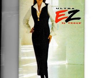 Vogue Misses' Jumper and Blouse Pattern 8740