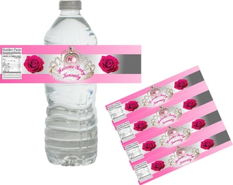 Custom Labels. Water bottle labels, Personalized gifts