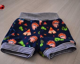 Funny girl shorts