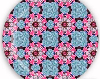 Plate, Melamine Plate, Decorative Plate, Plastic Plate - Whimsical No. 1