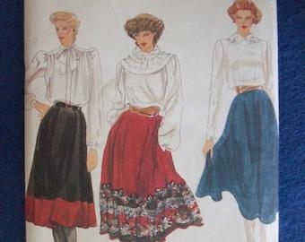 Vogue 8144, Ladies Skirt