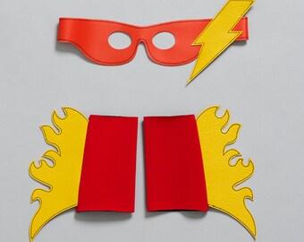 thunder & LIGHTENING superhero set