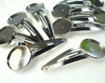 10 hair clips hair ring 20MM