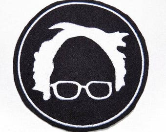 """Bernie Sanders Iron-On or Sew-On 3"""" Patch"""