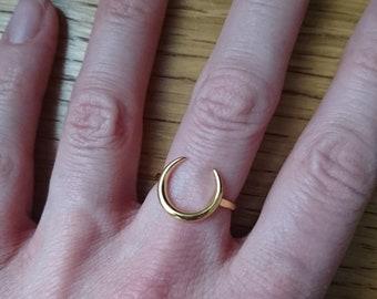 Golden Moon ring