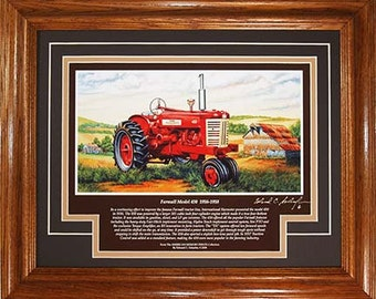 Farmall Model 450 1956 to 1958 with History