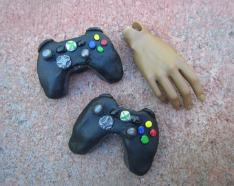 1/3 scale Xbox and PlayStation controllers for BJD
