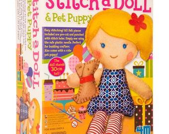 Stitch A Doll & Pet Puppy Kit