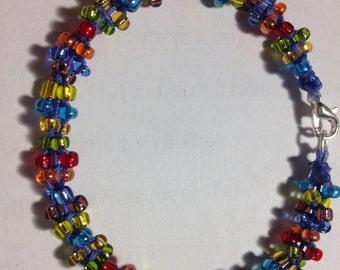 Multi-color Crystal bracelet.