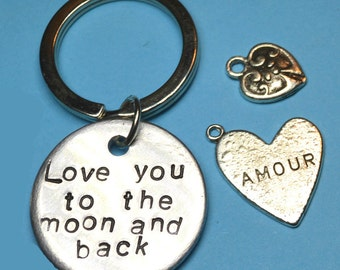 Anniversary gifts for boyfriend Mothers day gift Love you to the moon and back, Anniversary gifts for men, Personalised gift, Husband gift