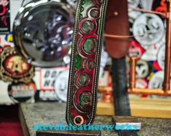 The Cool Wahr:  an instrument  strap for Bass & Guitar Players