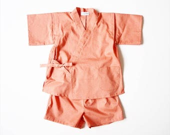 Baby Jinbey, Jinbei, Kimono,BONBON ENFANT, yukata for kids, made in France