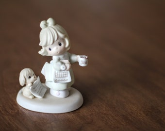 "Precious Moments Figurine ""What Would I Do Without You?"""