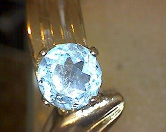 Stunning Blue Topaz Ring