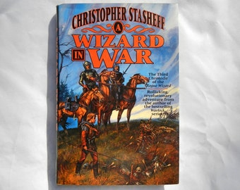 A Wizard in War by Christopher Stasheff Book Three 1995 First Edition